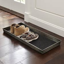 home 2 pictures crate barrel. crate and barrel exclusive zinc boot tray with liner home 2 pictures