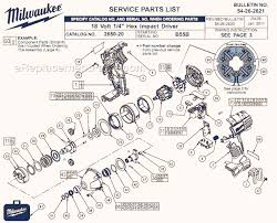 milwaukee 2650 20 parts list and diagram b55b milwaukee 2650 20 parts list and diagram b55b ereplacementparts com
