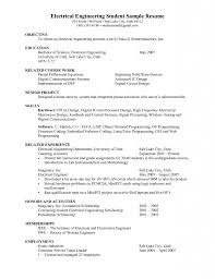 Download Engineering Student Sample Resume Haadyaooverbayresort Com