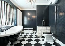excellent black and white tile in bathroom o2151009 classic black white bathroom tile pattern