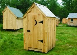 4x4 outhouse shed exterior