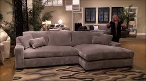 billie jean large sectional sofa with double chaise by fairmont designs youtube double chaise sofa49