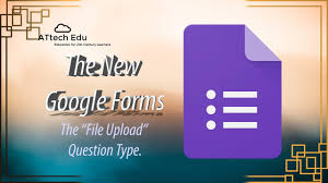The New Google Forms Add File Question Type Adding Files