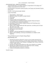 Job Description Sample Resume Server The Best Ways Youth