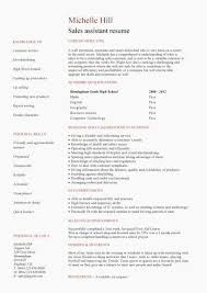 Sales Assistant Cv Example Shop Store Resume Retail Curriculum Sales ...