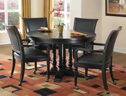 black dining room set round. Black Round Dining Table Set Room