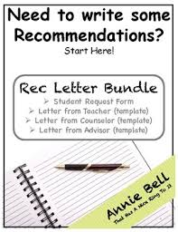 Recommendation Letter Samples And Request Form