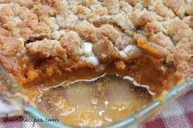sweet potato casserole recipe. Interesting Potato Homemade Sweet Potato Casserole Recipe With Ooey Gooey Marshmallows And A  Nice Golden Crumbly Topping Inside Sweet Potato Casserole Recipe T