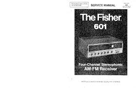 fisher 601 747 4 channel stereo am fm receiver sm service manual fisher 601 747 4 channel stereo am fm receiver sm service manual 1st