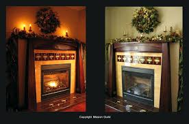 arts and crafts tile fireplace one of a kind fireplace mantels arts crafts mission mission guild