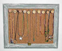 Jewelry Holder - Lots Of Unique Ideas! | Rustic