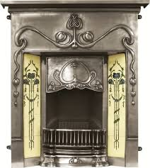 valentine full polish cast iron combination fireplace rx133 valentine