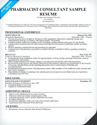 Pharmacy Technician Duties Resume From Resume Pharmacist Sample