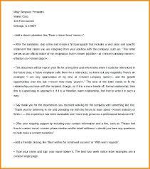 One Week Notice Resignation Letter One Week Notice Resignation Letter Bunch Ideas Of Example A
