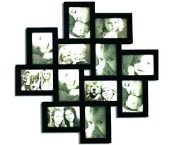 large collage picture frames for wall wall collage picture frames large collage frames black wood openings