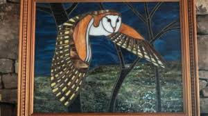 stained glass owls barn owl free patterns