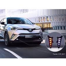TOYOTA CHR Modified Rear LED LIGHT Fog lamp, Car Accessories on ...