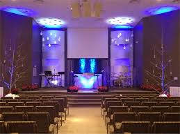 Church Stage Platform Design Woven With Snow Church Stage Design Ideas Scenic Sets
