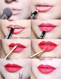 a perfect red lip tutorial using nyx cosmetics plush red lip liner and morphe lip