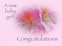 Congratulations New Baby Girl Azaleas