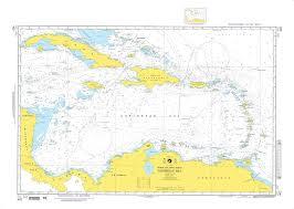 Nga Nautical Chart 402 Caribbean Sea Omega