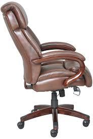 brilliant lazy boy desk chair with regard to com la z trafford big tall executive bonded leather