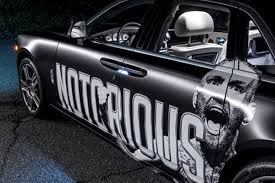 Conor Mcgregor Gifted Custom Notorious Rolls Royce For Ufc 205