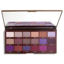 makeup revolution violet chocolate paleta cieni do powiek