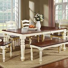 White Dining Room Table With Bench peopleonthepipelinecom