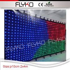 Led Panel Stage Lighting Us 1047 0 China Suppliers Christmas Decorations Led Panel Light Led Video Curtain Dmx Led Stage Backdrop In Stage Lighting Effect From Lights