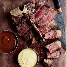 porterhouse steak.  Steak Porterhouse Steak Inside