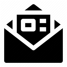 Envelope For Resume Business Collection 6 Glyph By Kreasi Kanvas