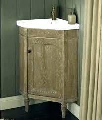 corner vanity with two sinks rustic bathroom sink double vanities bathro