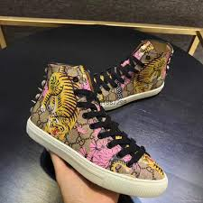 gucci 2017 shoes. 2017 hot sell gucci sneaker high top tennis shoes 1