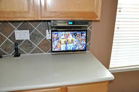 under cabinet tvs kitchen under cabinet mount best under cabinet kitchen tv uk