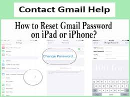 How To Change Or Reset Gmail Password On Ipad Iphone Apple Device