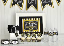 40th Birthday Decorations For Her 30th Birthday Decor Etsy