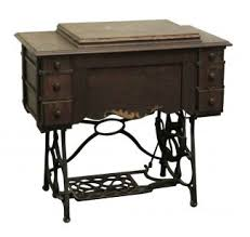 minnesota a antique sewing machine table with cast