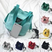 <b>New</b> Lady Canvas Messenger <b>Bag</b> Mini <b>Single Shoulder Bag</b> ...