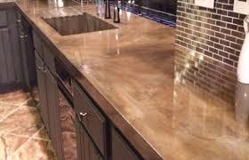 concrete countertops marble look digsdigs minimalist concrete kitchen countertops