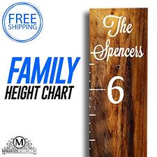 Personalized Wooden Growth Chart Amazon Com Growth Chart Wooden Growth Chart Personalized