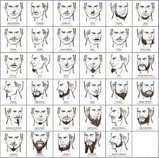 Mustache Styles Chart Beard Chart Might Just Have To Try Something New In 2019