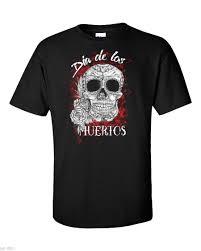 Dia De Los Muertos футболка мексиканский череп готический