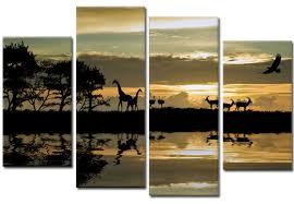 african wildlife wall art
