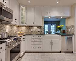 Kitchen Shaker Style Cabinets Shaker Style Cabinets White Shaker Kitchen Cabinets Dark Wood