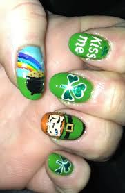Nail Art Ideas for St. Patrick's Day – Glam Radar