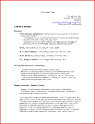 Resume Template On Word New Academic Cv Template Word mailing format 65
