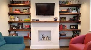corner electric fireplace cabinets reclaimed wood shelves with built in large size