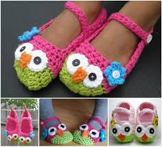 Cute Crochet Patterns Amazing Wonderful DIY Cute Crochet Owl Slippers