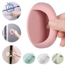 Tay Nắm Cửa Kính / Tủ Lạnh / Đồ Dùng Nội Thất Bằng Nhựa Hình Tròn Nhiều Màu  Tùy Chọn Đa Năng Tiện Dụng - Ổ khóa